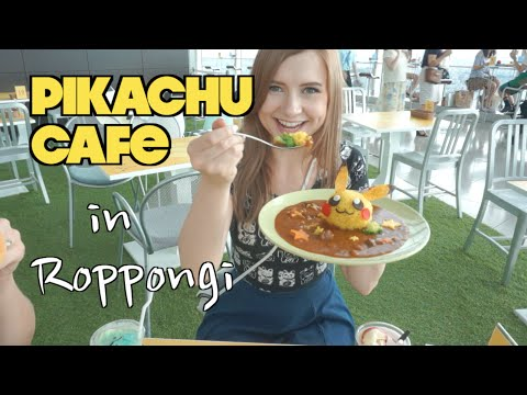 Pikachu Cafe In Japan
