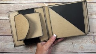This tutorial will show you how to make a unique square envelope mini album! The templates I used are from the Paper Dream printable mini album. They are ...
