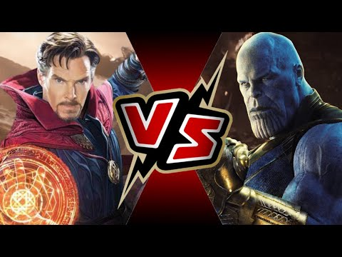 Dr. Strange VS Thanos | BATTLE ARENA