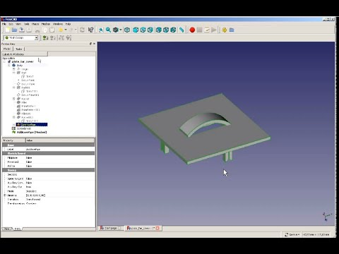 Another FreeCAD Tutorial For Beginners  With V 0.17