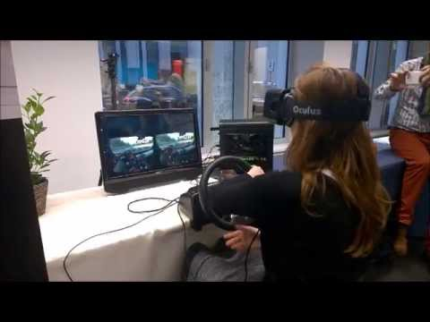 VRPowerhouse Driving Demo at Microsoft Centre, Brussels