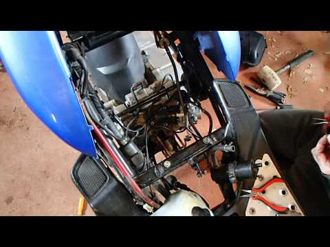 vento triton tear down start 49cc scooter part 6 of 6