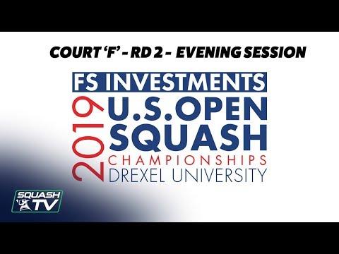 U.S. Open 2019 - Rd 2 Evening Session - Racquet Club Court F