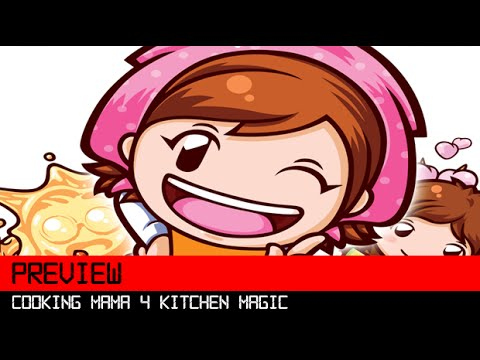 Cooking Mama 4 Kitchen Magic 3DS HD Preview