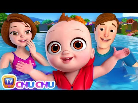Baby Goes Swimming Song | ChuChu TV Nursery Rhymes & Kids Songs