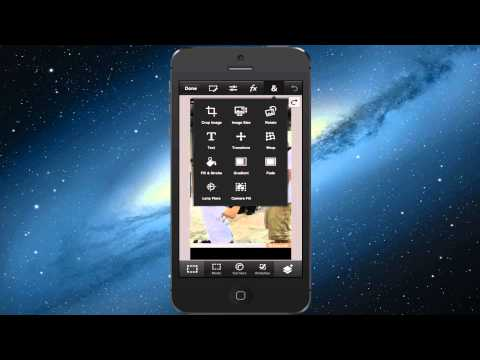 Adobe Photoshop Touch for phone iPhone App Review