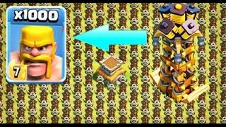 Video 1000 Barbarian VS 1000 Hidden Tesla Madness Attack | COC Private Server MP3, 3GP, MP4, WEBM, AVI, FLV Juli 2017