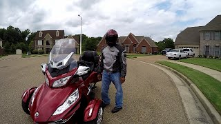 9. 2015 Can Am Spyder RT Limited Review