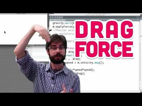 2.5: Drag Force - The Nature Of Code