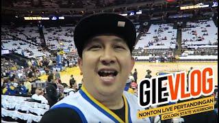 Video GIEVLOG #43 Nonton Live Pertandingan GOLDEN STATE WARRIORS MP3, 3GP, MP4, WEBM, AVI, FLV Maret 2019