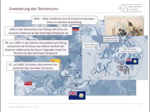 Die britische Kronkolonie Hongkong (1842 bis 1997)