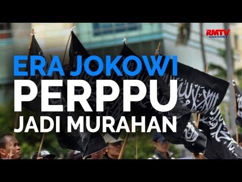 Era Jokowi Perppu Jadi Murahan