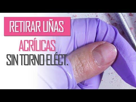 Uñas acrilicas - Como retirar uñas acrílicas sin torno eléctrico