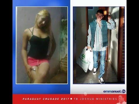 Prophet TB Joshua allegedly transforms 'woman' to man (photos)