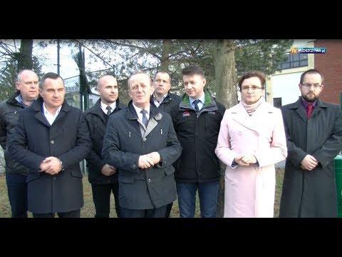 Otwarcie ulic Głowackiego i Koniecpolskiej we Włoszczowie