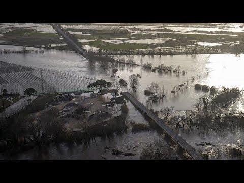 """Video - Φονική καταιγίδα στην Ισπανία - Νεκροί και αγνοούμενοι από την """"Γκλόρια"""" (ΒΙΝΤΕΟ)"""