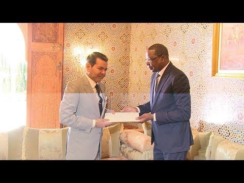 صاحب السمو الملكي الأمير مولاي رشيد يستقبل مبعوثا سينغاليا حاملا رسالة إلى جلالة الملك