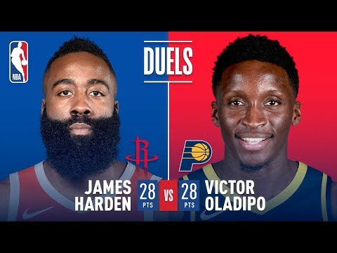 Video: Harden and Oladipo DUEL It Out! 28 Pts Each | November 5, 2018
