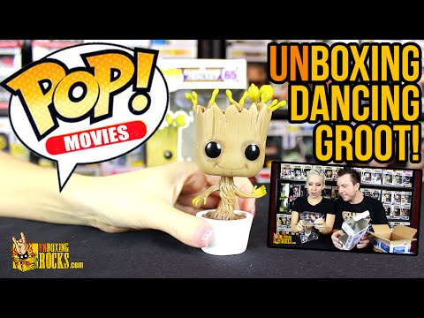 Dancing Groot Funko POP! Unboxing Video Review