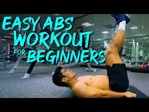 JC de Vera Easy Abs Workout for Beginners
