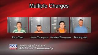 Multiple Arrests for Drugs and Stolen Property