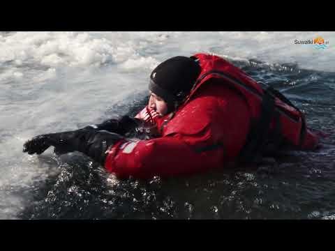 Co robić, gdy załamie się lód, jak uratować się lub kogoś przed utonięciem