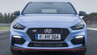 The new 2018 Hyundai i30 N loves corners. The N logo symbolises a chicane, the ultimate part of the track where the i30 N achieves maximum traction, precision and feeling.The i30 N is powered by a 2.0-litre turbocharged engine available with two power outputs: the Standard Package engine delivers 250 horsepower, whereas the Performance Package engine's maximum power is boosted to 275 HP. Both outputs deliver a maximum torque of 353 Nm and reach a maximum speed of 250 km/h. The 250 HP version accelerates to 100 km/h in 6.4 seconds, the 275 HP version in 6.1 seconds. The engine offers direct response with a linear power development through the early responding turbo charger, and is available with front-wheel drive and a six-speed manual transmission. The power is transferred independently to the gear train, in order to always be ready to shift to the next gear without any torque interruption.The i30 N with Performance Package exclusively comes with 19-inch Pirelli P-Zero high-performance Hyundai N tyres, distinctive red N break calipers and larger brake discs (18-inch at the front, 17-inch at the rear). The Electronic Limited Slip Differential (E-LSD) and Variable Exhaust Valve System are additional features included in the Performance Package to provide the optimal race track experience.If you love cars you should subscribe now to YouCar the world famous automotive channel: https://goo.gl/5i54Vg