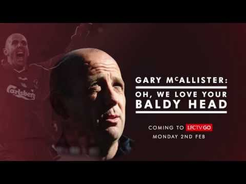 Video: Gary McAllister: Oh we love your baldy head!