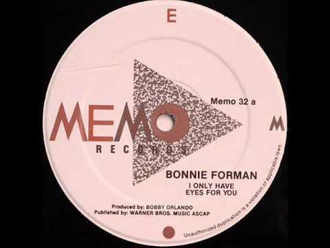 Tekst piosenki Bonnie Forman - I only have eyes for you po polsku