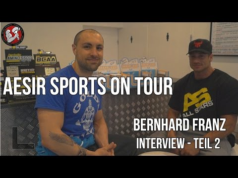 Aesir Sports on Tour #1: Zweites Interview mit Bernhard Franz – Teil 3