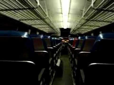 jiggatone7 - A ride inside the Lincoln Tunnel in New York Bus Service Fishbowl 1500.