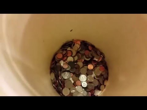 Using Coinstar after saving my coins for 1 year