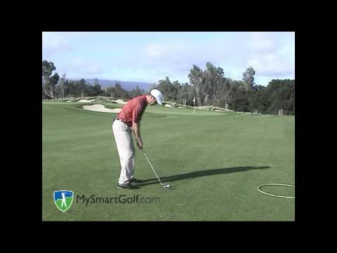 Golf instruction -distance wedge shot
