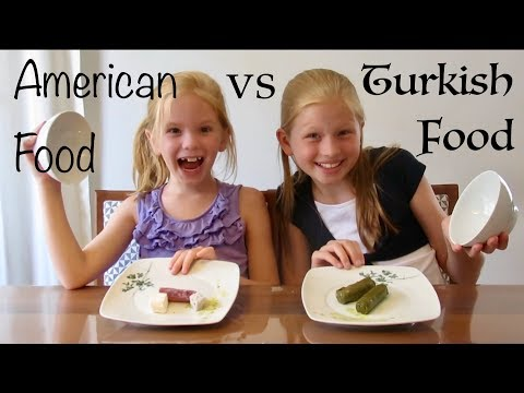 American vs Turkish Food Challenge