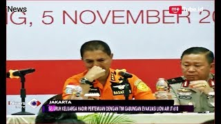 Video Momen Kepala Basarnas Menangis di Depan Keluarga Korban Lion Air - iNews Sore 05/11 MP3, 3GP, MP4, WEBM, AVI, FLV November 2018