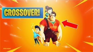 *NEW* Wreck-It-Ralph Fortnite CROSSOVER! (New Gamemode?)