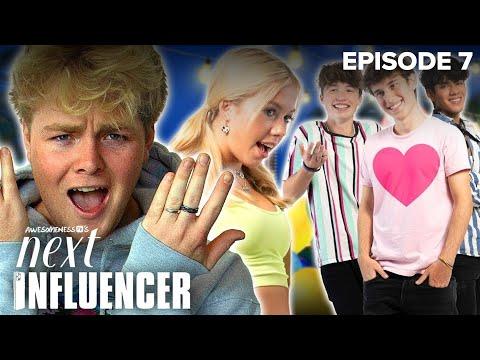 AwesomenessTV's Next Influencer Ep. 7 w/ Alex Warren - 4 Boys Write Me a Love Song in TikTok Mansion