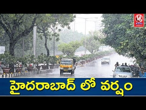 Heavy rains lash Hyderabad city
