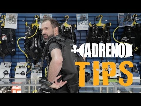 Rear Inflation BCD vs. Jacket Style Inflation BCD | ADRENO Scuba Diving_Búvárkodás