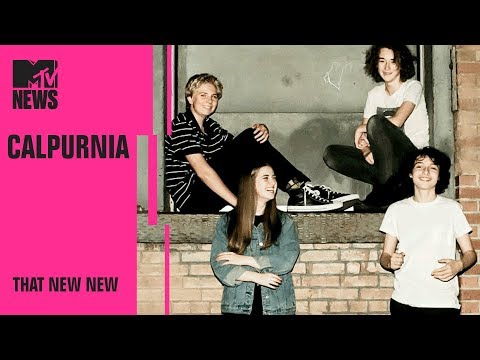 Calpurnia Went From Teenage Garage Band to Sold-Out Shows   THAT NEW NEW   MTV News