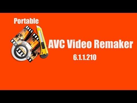 AVS Video Remaker 6.1.1.210 Portable برنامج المونتاج