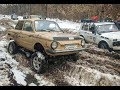 Download Lagu МегаЗАЗ-Zalu@a vs Jeep Grand Cherokee (WJ) и НИВЫ off road зимняя ТАНКОВАЯ ДОРОГА Mp3 Free