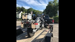 10. Saying Goodbye to the 2009 BMW R1200 GS Adventure