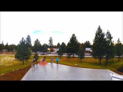 Ponderosa Park Skatepark Flyover