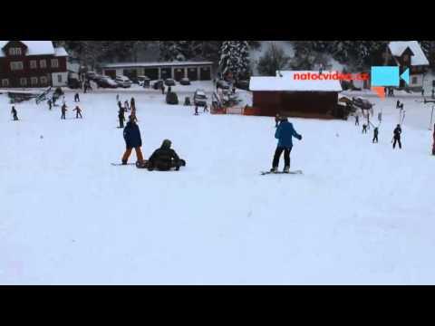 Šikulka na snowboardu