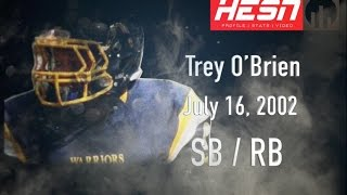 Trey O'Brien (SB/TE/DE) Class 2020  - 2016 NCAFA Highlights