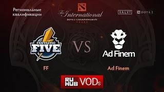 Fantastic Five vs Ad Finem, game 1