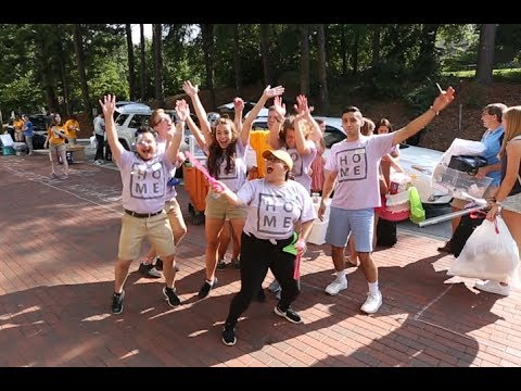 Emory Move-In Day 2018