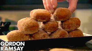 Homemade Chocolate Donuts - Gordon Ramsay