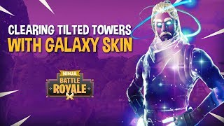 Download Video Clearing Tilted Towers Featuring GALAXY SKIN!! - Fortnite Battle Royale Gameplay - Ninja & Wildcat MP3 3GP MP4
